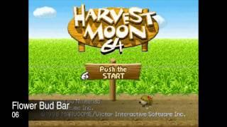 Harvest Moon 64 Complete Soundtrack OST - Nintendo 64