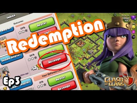CLASH OF CLANS - REDEMPTION EP3 TH9.5 REVENGE MASS WITCH LIVE ATTACK