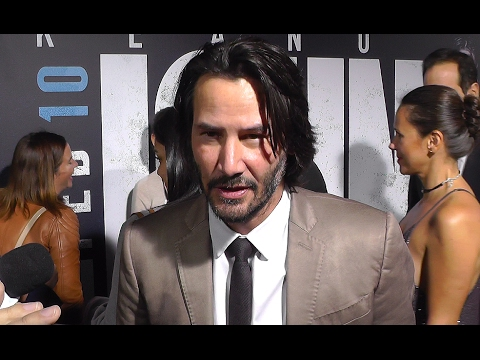 Keanu Reeves and More Talk JOHN WICK: CHAPTER 2 at Hollywood Premiere