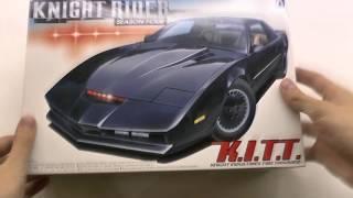 Збірка KITT Knight Rider від AOSHIMA - Частина 1/Розпакування - D. T. 25