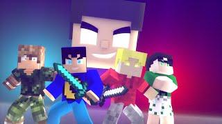 Animação Minecraft - A FUGA   Minecraft Animation - The Escape
