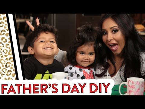 Snooki's DIY Father's Day gifts!