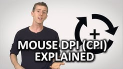 Mouse DPI (CPI) as Fast As Possible