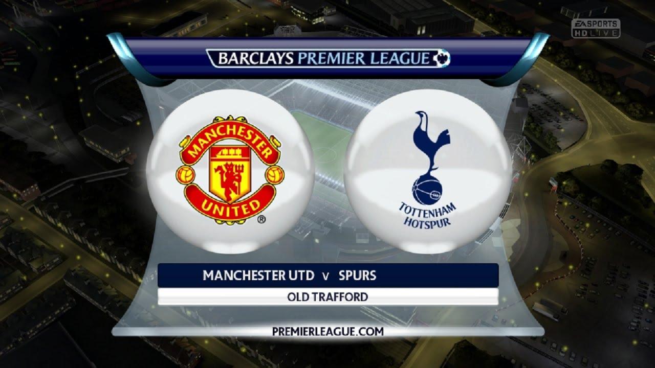 Image result for Manchester United vs Tottenham live pic logo