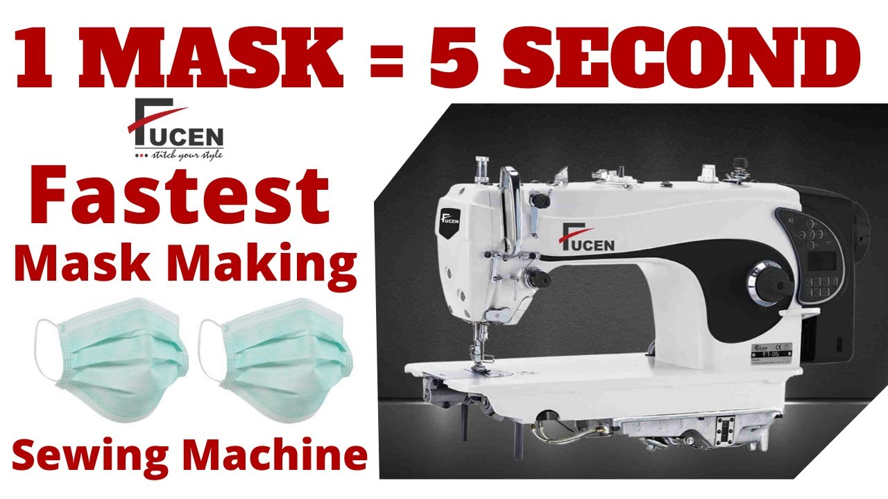 DIY Face Mask Making FT-05 Sewing Machine | Coronavirus (COVID-19)|FUCEN