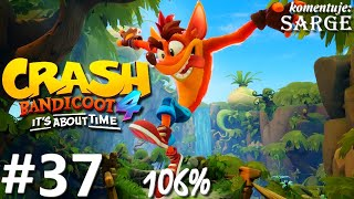 Zagrajmy w Crash Bandicoot 4: Najwyższy Czas (106%) odc. 37 - Zamek Cortexa