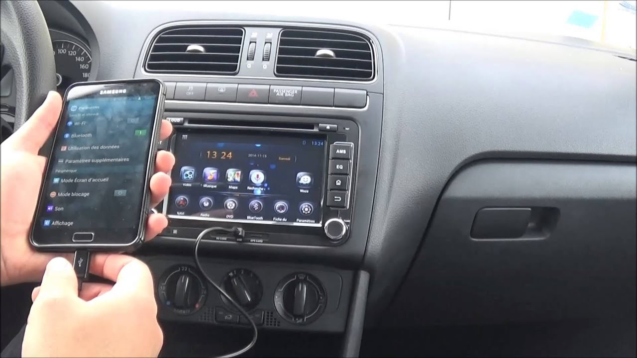 autoradio car dvd player android vw youtube. Black Bedroom Furniture Sets. Home Design Ideas