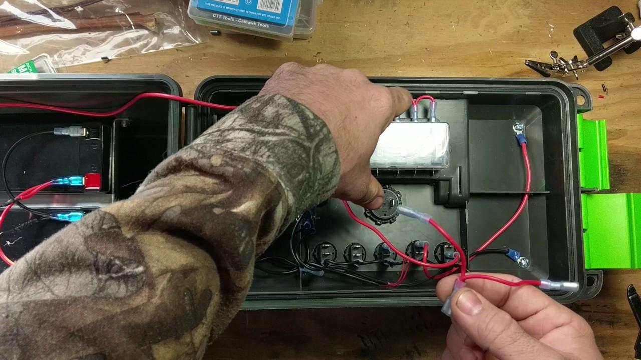 maxresdefault how to build a 12v portable power box youtube