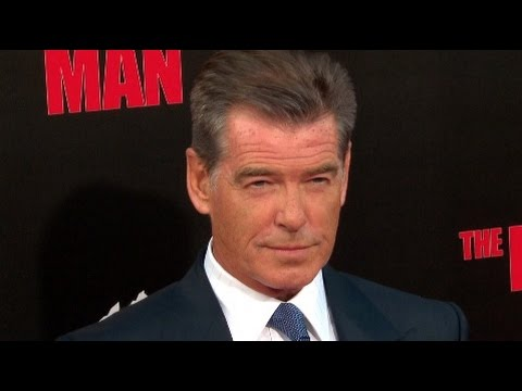 Pierce Brosnan and Olga Kurylenko at The November Man Premiere