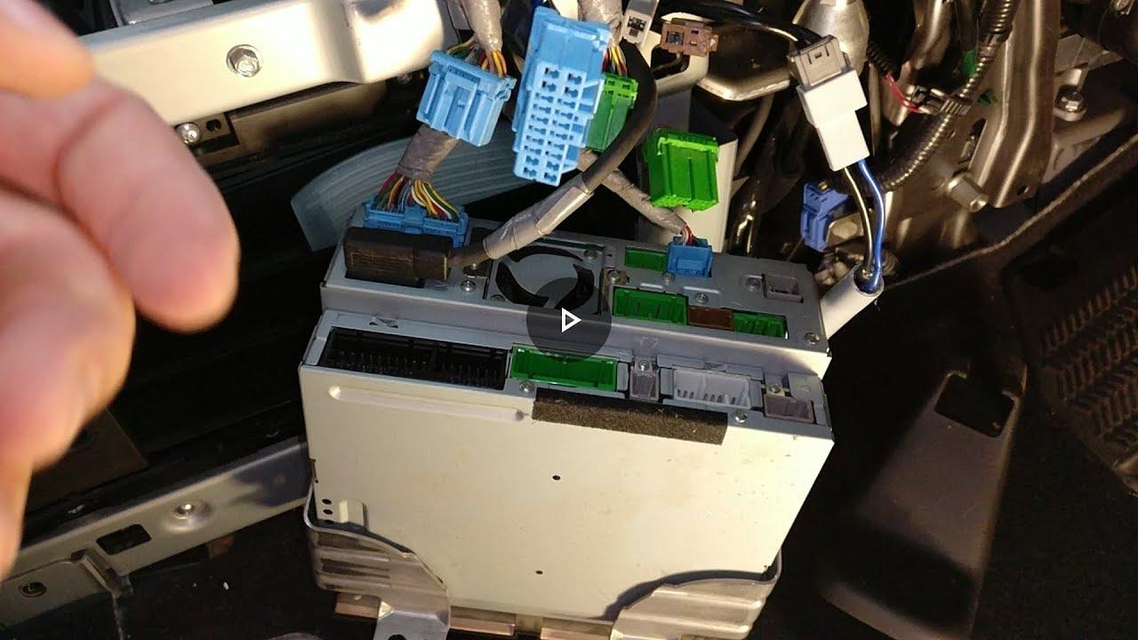 D I Y Honda Elysion Rr5 Rr6 Fm Band Expander Install Mirror Link Tv Enable