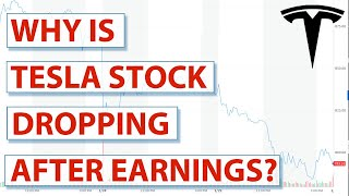 Why Is Tesla Tsla Stock Dropping After The Earnings Call Youtube