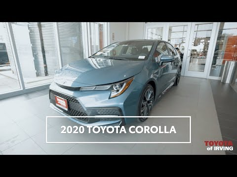 The brand new 2020 Toyota Corolla is here | Toyota of Irving in Dallas Fort Worth