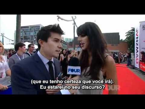 Brooke Fraser - Red Carpet VNZMA 2011 (Legendado Português)