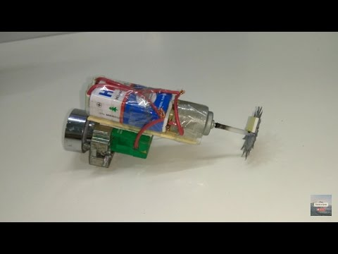 How to make an electronic drilling machine DIY
