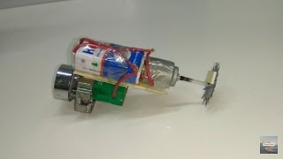 How to make an electronic drilling machine (DIY)