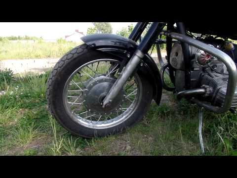 Мотоцикл днепр 11 переделанные в чоппер #5