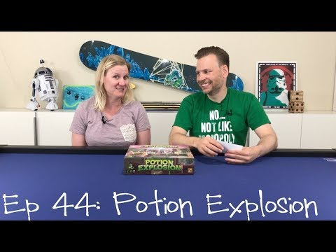 Potion Explosion Review - Ep 44: This Week in Board Games