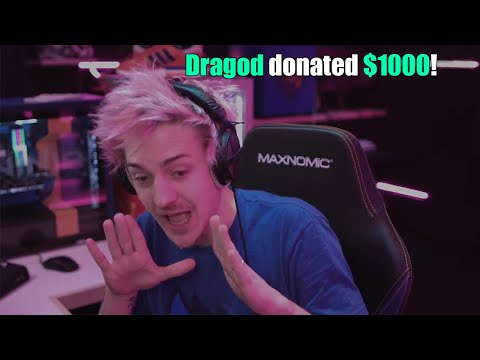 So I Donated $1000 To Ninja And Got Banned From Ever Donating Again