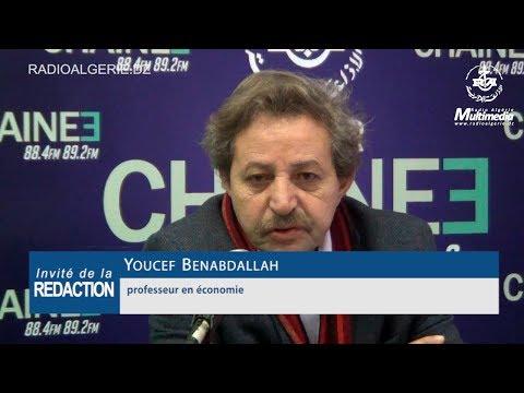 Youcef Benabdallah professeur en économie