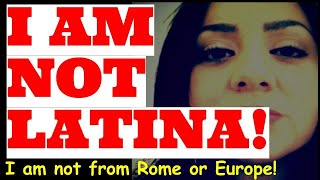I Am Not Latina! Calling Ourselves Latino Means Genocide!-nican Tlaca Women Warr