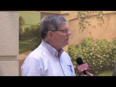 Maritime Reporter TV Interviews Richard Mueller, Netsco