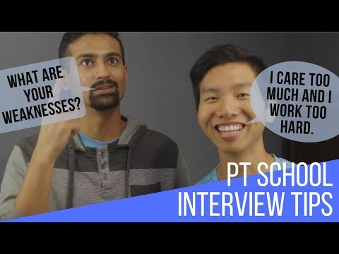 Interview Tips for Physical Therapy School You