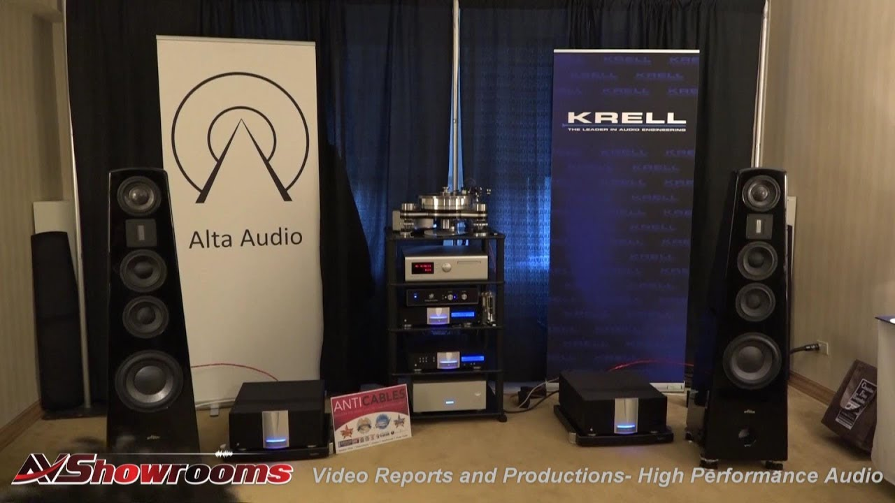 alta audio titanium hestia krell industries soulution anti cables vpi new york audio show. Black Bedroom Furniture Sets. Home Design Ideas