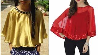 DIY Cape for dresses and saree
