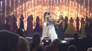 Miss USA 2016 Crowning Moment View From the Audience