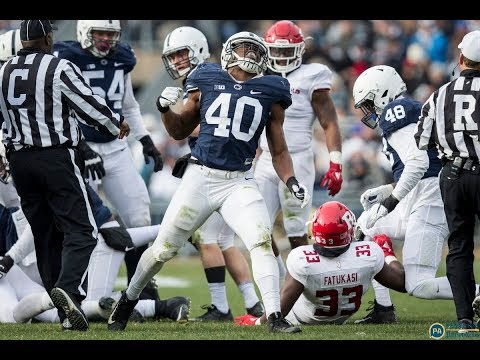 Penn State's Jason Cabinda reveals favorite movie, superhero, food and more at Fiesta Bowl