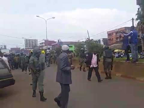 SDF MPs joined anglophone Cameroon Strike action in Bamenda.
