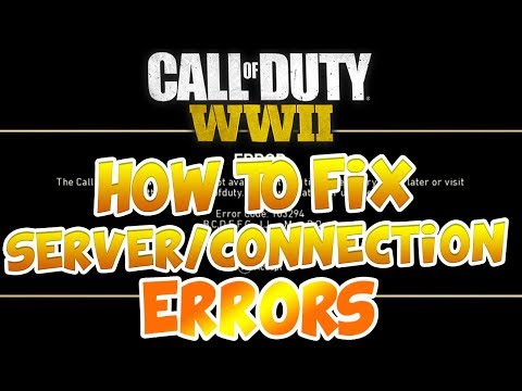 Call Of Duty: WW2 How To Fix Server/Connection Errors