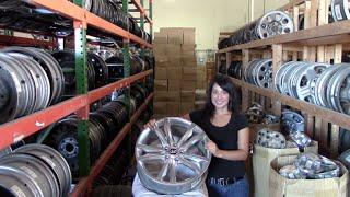 Factory Original Hyundai Santa Fe Rims & OEM Hyundai Santa Fe Wheels – OriginalWheel.com