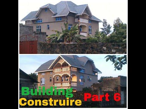 Building A House In DR Congo / Goma Kivu - Construire Une Maison En RD Congo / Goma Kivu Part 6