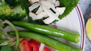 현미 식물식 밥상
