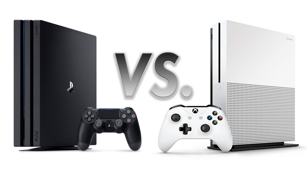 Ps4 Pro Vs Xbox One S Preview  The Battle Of 4k Consoles Begins