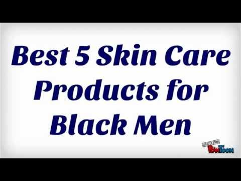 facial products for black men