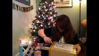 dolly dork christmas box opening video