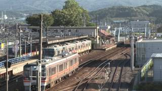 JR 名鉄 可児駅・新可児駅の風景