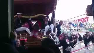 平成29年度 岸和田だんじり祭り 藤井町 事故 thumbnail