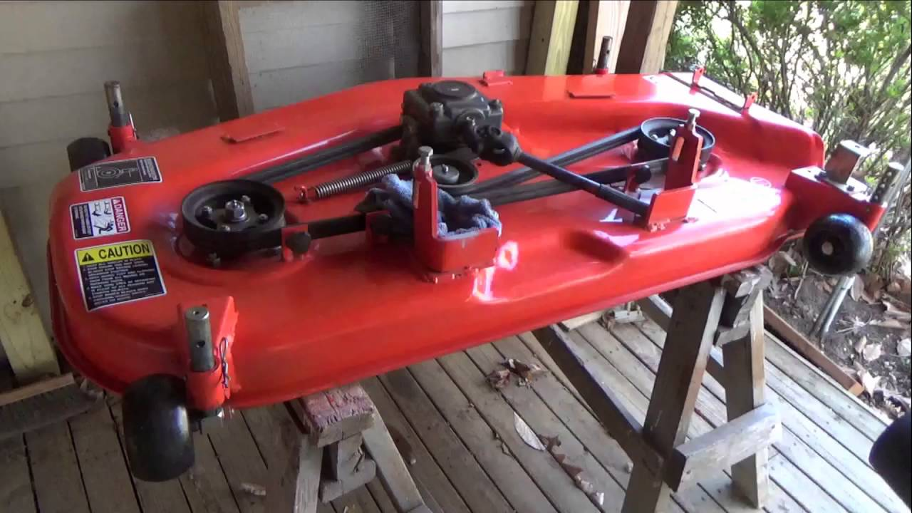 Kubota Bx M M M Deck Maintenance