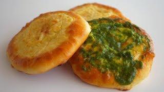 Шаньги/ватрушки с картофельным и гороховым пюре