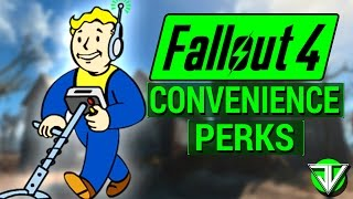FALLOUT 4: Top 10 BEST CONVENIENCE PERKS in Fallout 4! (Perks That Make Life Easier in Commonwealth)