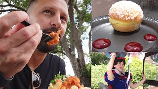 Trying New Food At EPCOT's Food & Wine Festival! | Disney Princess Cavalcade, New Merch & More!