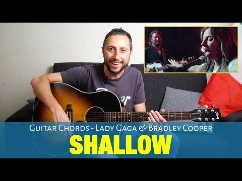 Lady Gaga, Bradley Cooper - Shallow Guitar Chords