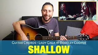 Скачать Lady Gaga Bradley Cooper Shallow Guitar Chords