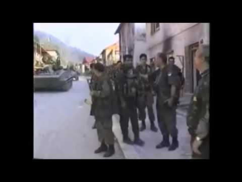 General Ratko Mladic in Srebrenica, Revenge on the Turks,  july 1995