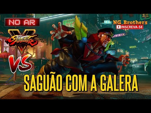 27°  Live Street Fighter 5 Saguão com a galera do canal