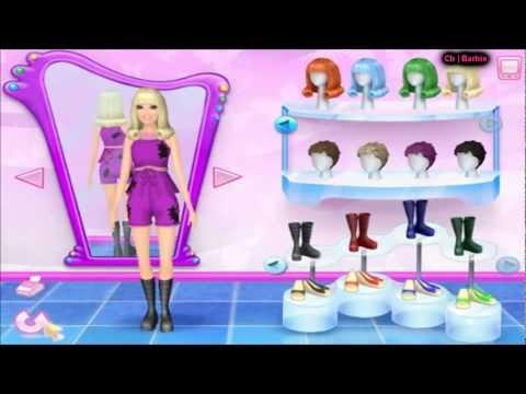 Jogo Vestir Barbie Para Esquiar Doovi