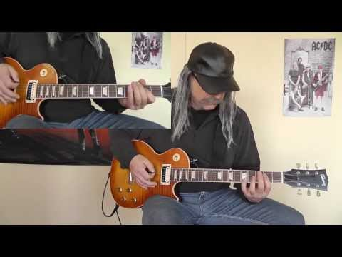 Krokus - Hallelujah Rock'n'Roll - with Solo - cover by RhythmGuitarX
